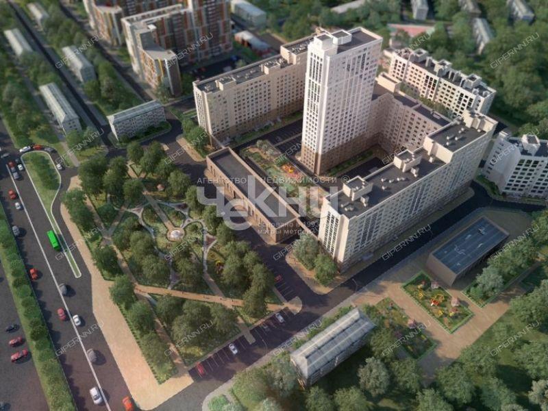 однокомнатная квартира на Московском шоссе дом 167 к2