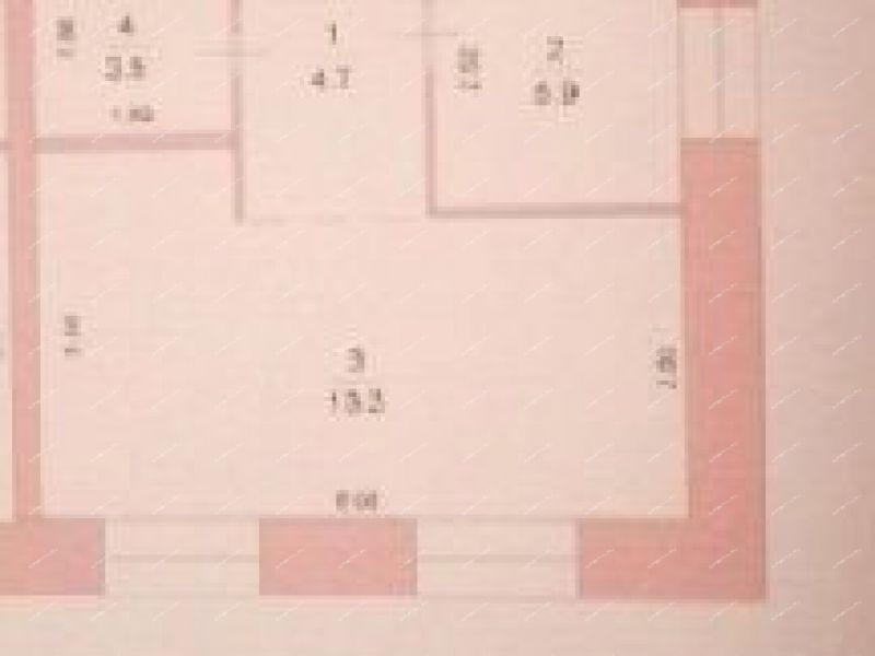 однокомнатная квартира на улице Промышленная дом 9 к1 город Семёнов