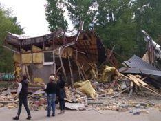 Торговый киоск принудительно демонтировали в Сормовском районе