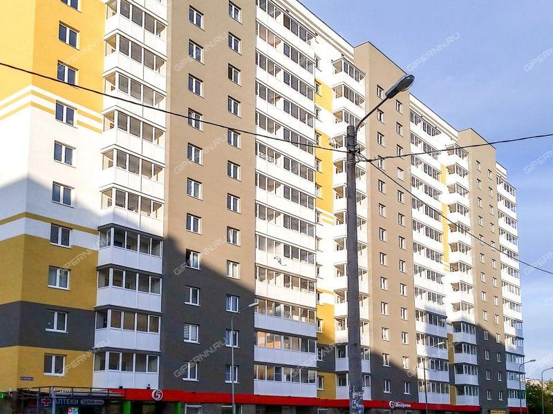 однокомнатная квартира в новостройке на улице Победная