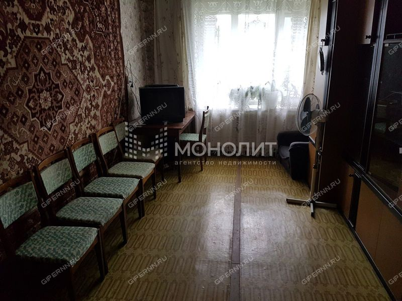 трёхкомнатная квартира на Спортивной улице дом 25 рабочий посёлок Бутурлино